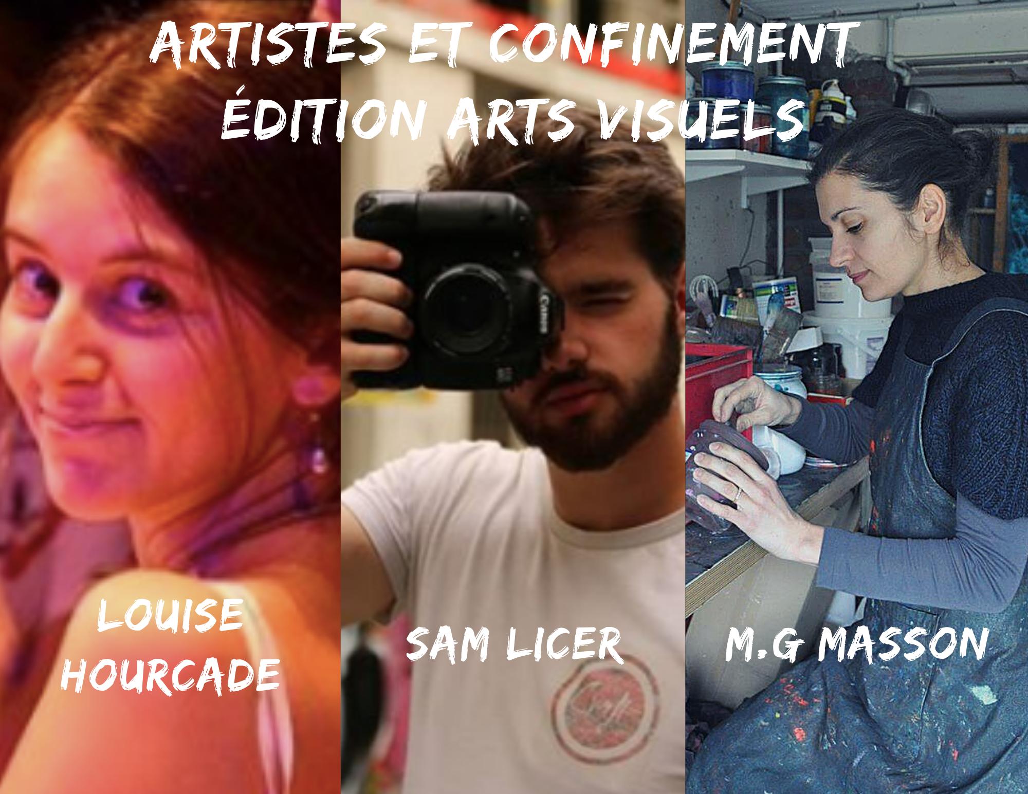 Artistes et confinement #3 Arts visuels